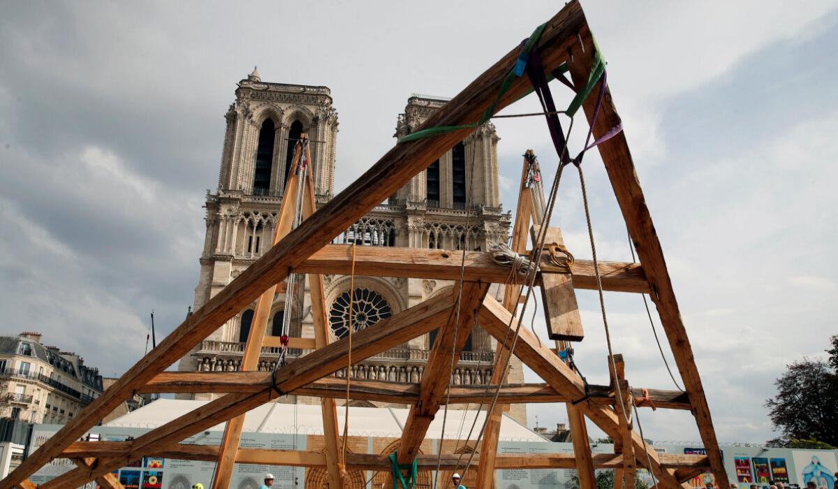 The Notre Dame de Paris Truss Project